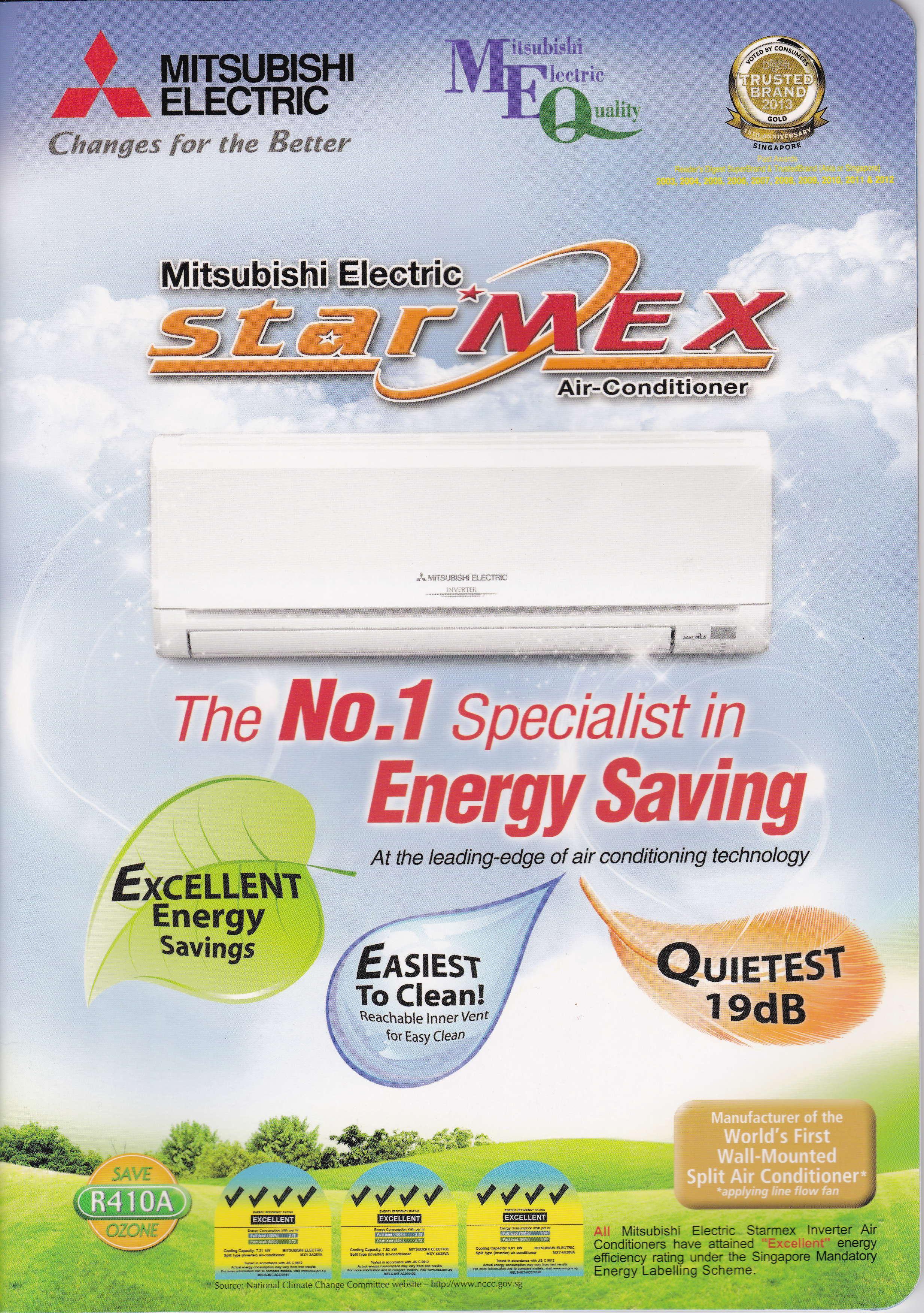 Mitsubishi Starmex Air Con #A2A427