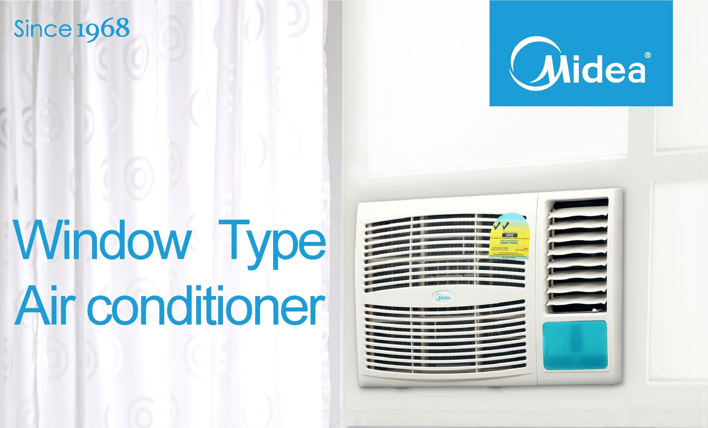 Midea Window AirCon Promotion #1685B5