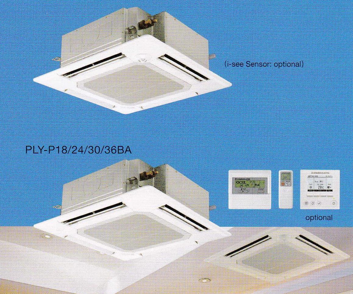 Mitsubishi Electric (Mr.Slim) Inverter Ceiling Cassette #2C6A9F