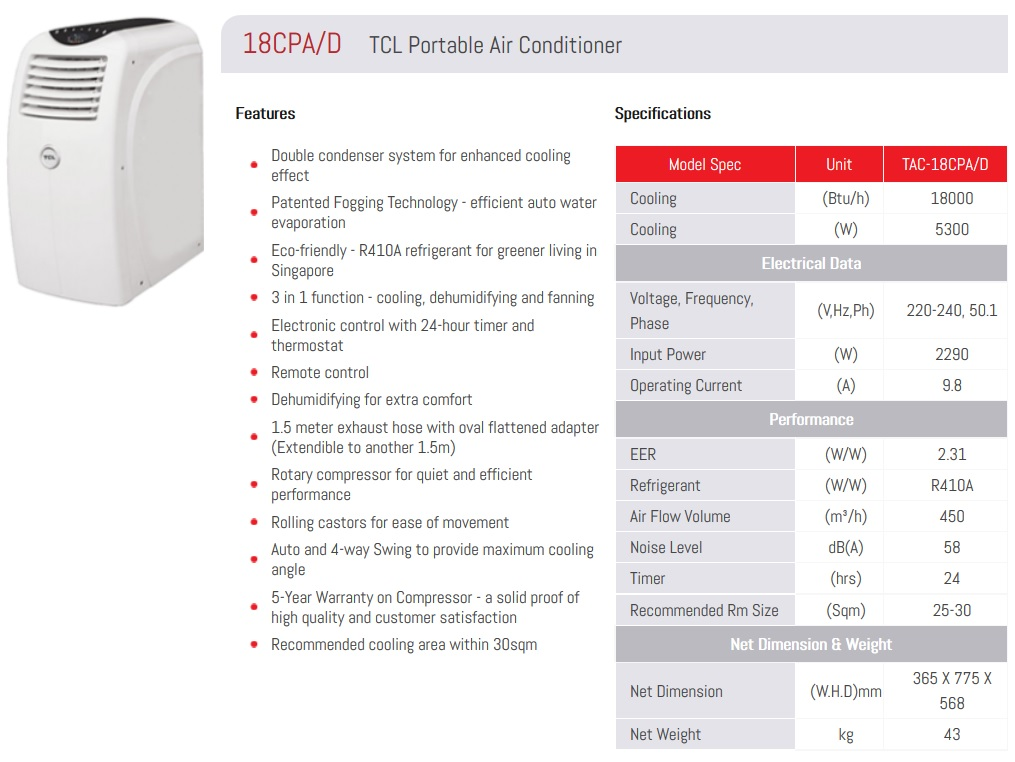 Tac 09cpa Vw 9 000 Btu Now Only 799 Suitable For Hdb